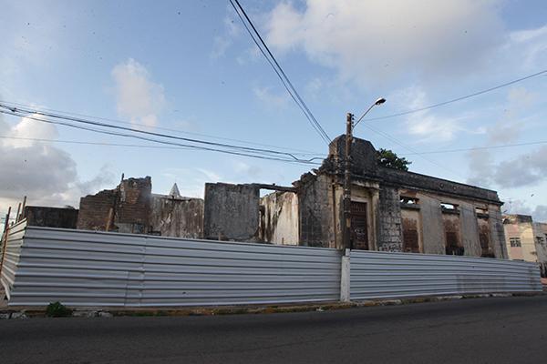 Restauração do Arquivo Diocesano, na Cidade Alta, está a cargo do Iphan
