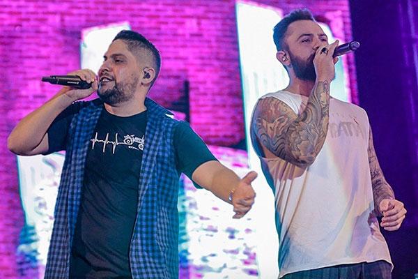 Jorge e Mateus são os artistas mais ouvidos na década no Brasil