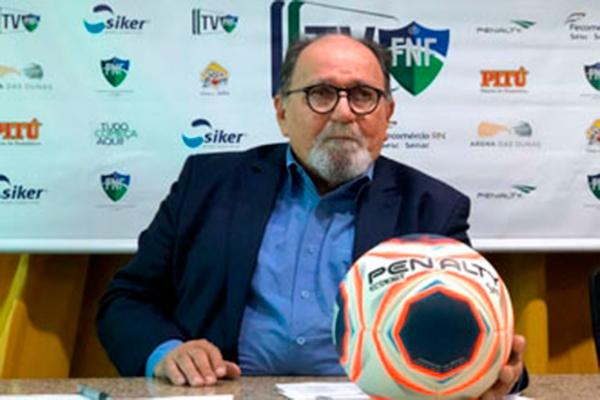 Presidente da FNF, José Vanildo, deseja fazer uma festa na final