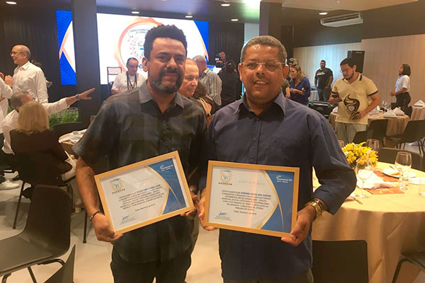 Tádzio Yuri e Adriano Abreu conquistaram o segundo lugar nas categorias Jornalismo Impresso e Fotojornalismo