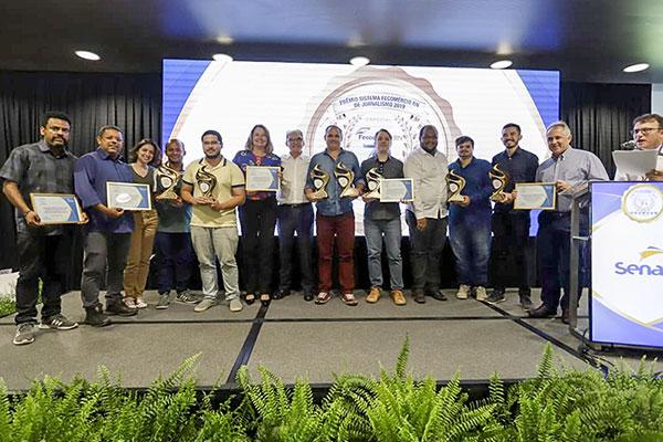 Vencedores do Prêmio Fecomércio de Jornalismo