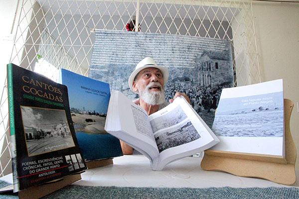 Pesquisador e jornalista Eduardo Alexandre reúne desde 2003 vasto acervo sobre Natal antiga