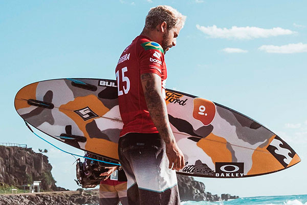 O surfista de Baía Formosa pode conquistar o título inédito de campeão mundial e, de quebra, a vaga para representar o Brasil nos Jogos Olímpicos de Tóquio