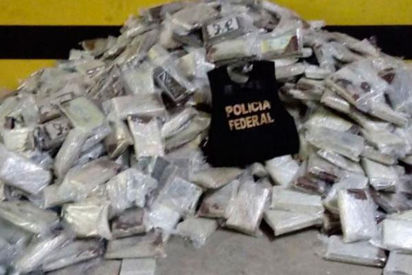 Última apreensão de cocaína no RN foi realizada no sábado passado em Natal e Parnamirim