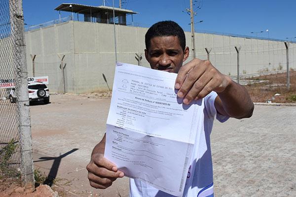 Eldis Trajano, 37, está livre do pesadelo que viveu nos quase três anos na cadeia