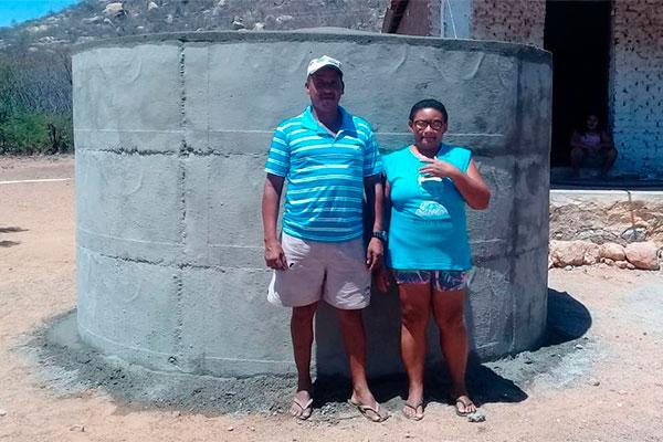 Sílvio Carlos é um dos beneficiados do programa no sítio Malhada Vermelha