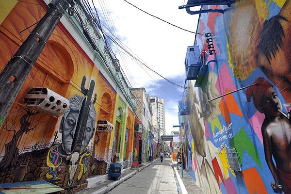 O Renascimento do Beco da Lama a partir da arte urbana: case de sucesso