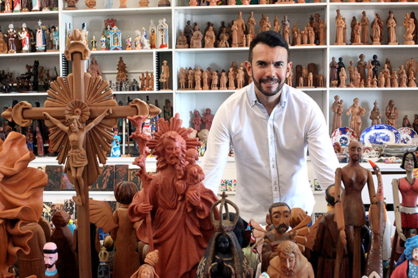 Padre Jocimar Dantas, marchand e colecionador
