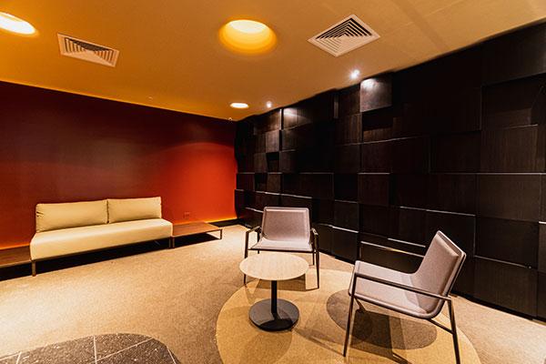 Um lobby exclusivo e uma bomboniére própria para as salas do circuito Vip