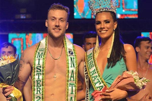 Os vencedores, Deivid Festewing e Daelly Mendes