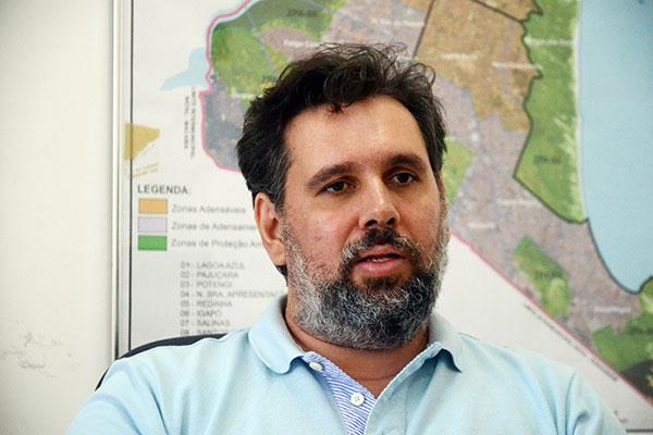 Thiago Mesquita, secretário da Semurb, explica como será o projeto no Parque das Mangueiras