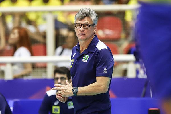 O técnico da Seleção Brasileira masculina, Renan falou sobre as dificuldades dos rivais nos Jogos