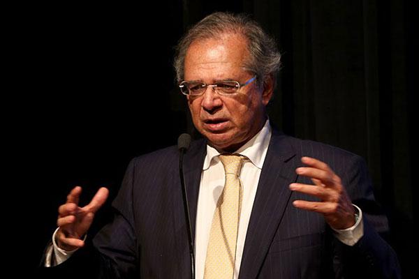 Ministro Paulo Guedes participou de reunião para discutir um plano de socorro aos Estados