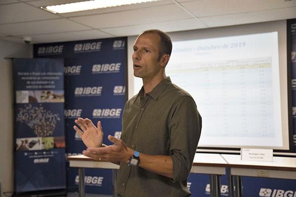 Rodrigo Lobo, do IBGE, destaca que apesar do avanço em 2019, perdas acumuladas são maiores