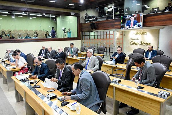 Deputados tiveram acesso ao texto da proposta de reforma da Previdência estadual