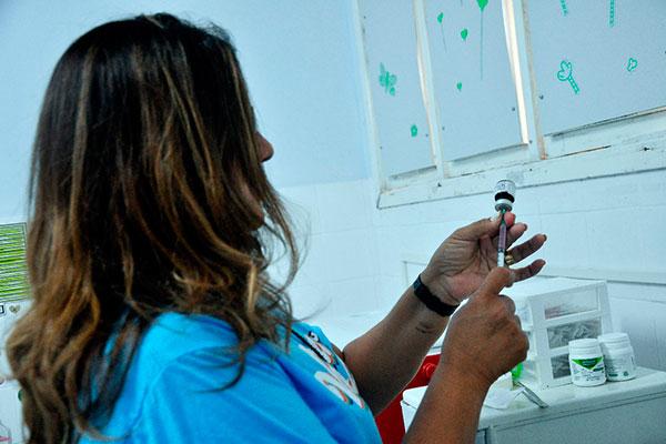 Vacinação contra o sarampo tem seu Dia D neste sábado