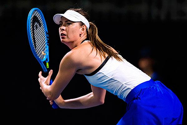 Maria Sharapova expressou toda gratidão ao esporte e disse que vai sentir saudades das quadras
