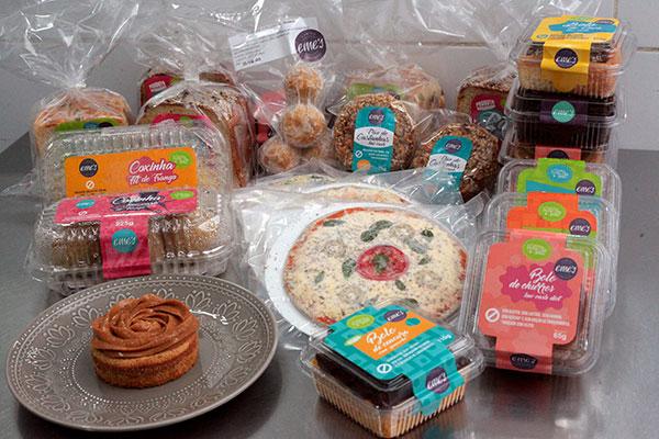 Os pães, bolos, doces e salgados utilizam uma variedade de alternativas e combinações para deixar o sabor mais próximo dos ingredientes convencionais