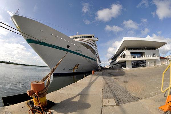 Na semana passada, navio atracou em Natal com 578 passageiros
