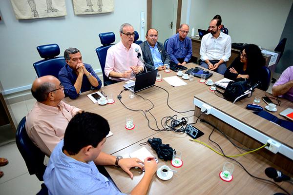Reitores da UFRN, UFERSA e IFRN se reuniram para discutir medidas sobre o coronavírus