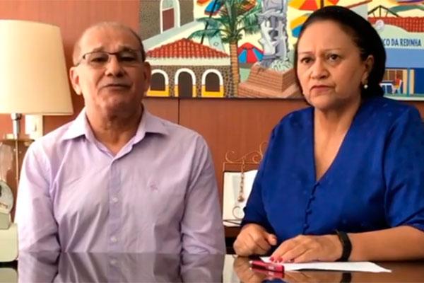 Getúlio Marques e Fátima Bezerra anunciaram suspensão das aulas