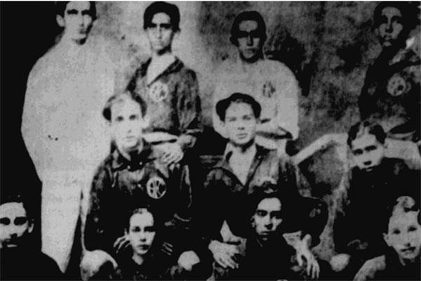 No ano de 1918 o América (foto) disputou a competição contra o ABC e o Centro Esportivo Natalense