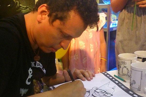 """O quadrinista e ilustrador Brum subiu seis produções autorais: Ideia surgiu de uma hashtag no twitter chamada """"coronacon"""""""