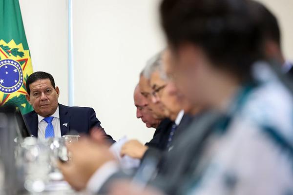 Vice-presidente comentou repercussão do pronunciamento do presidente Bolsonaro