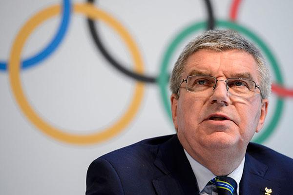 Presidente do COI, Thomas Bach elogia a decisão dos japoneses