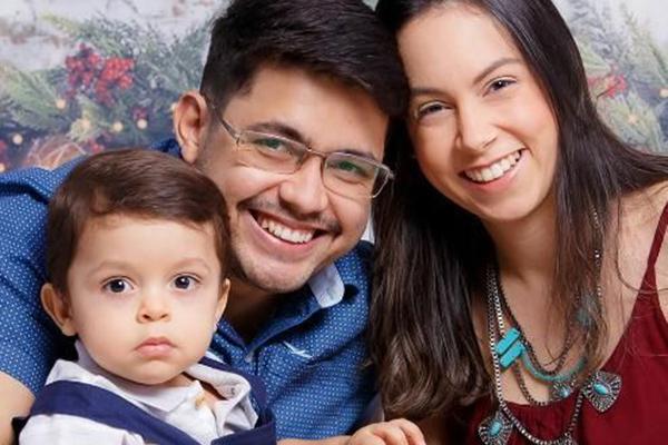 Eric Vieira, 31, diz que os cuidados estão redobrados em casa