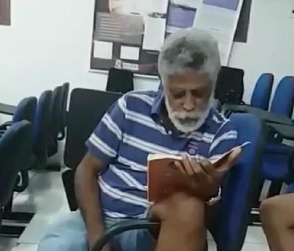 Professor Luiz Di Souza, 61 anos, morreu na noite do sábado (28)