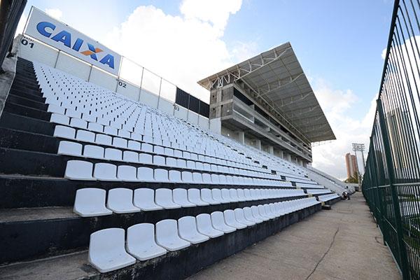 O estádio Maria Lamas Farache está entre os bens do Alvinegro que podem ir a leilão para o pagamento de uma dívida milionária