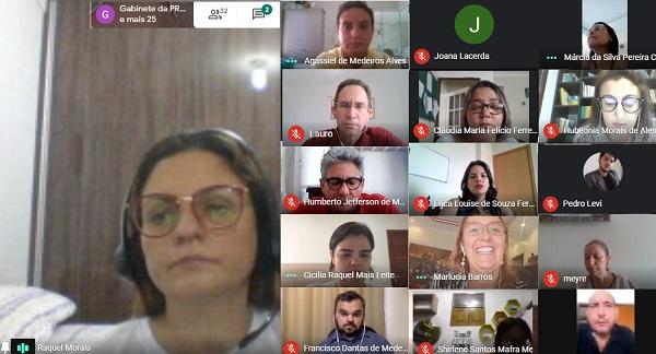 Gestores da UERN participaram de reunião por videoconferência para decidir sobre a suspensão