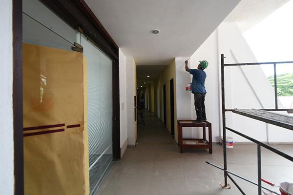 Adequação do hotel para receber leitos clínicos está em fase de conclusão