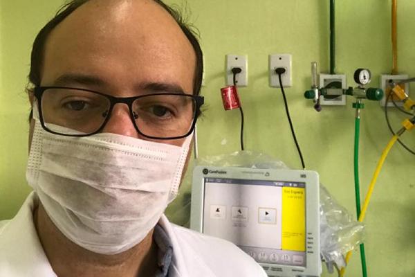Infectologista André Prudente é a favor do uso da cloroquina