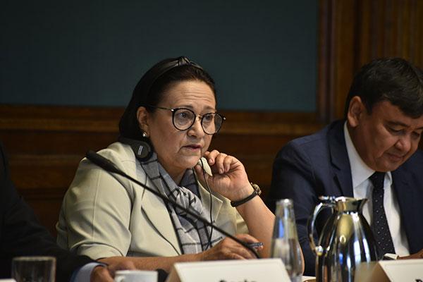 Governadora participou da coletiva de imprensa sobre a covid-19 nesta terça