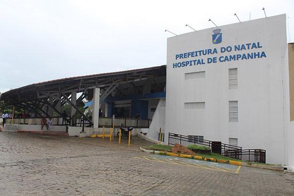 Hospital de Campanha foi montado no antigo Hotel Parque da Costeira pela Prefeitura do Natal