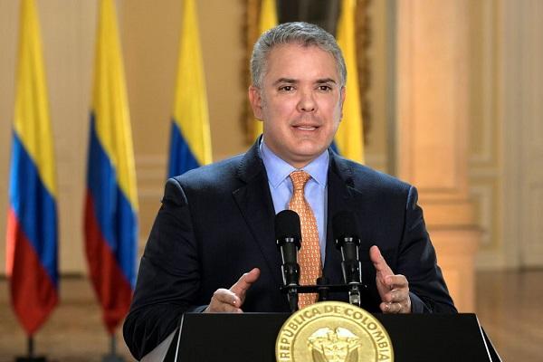 Presidente da Colômbia, Iván Duque, diz que em junho país começa a retomar atividades