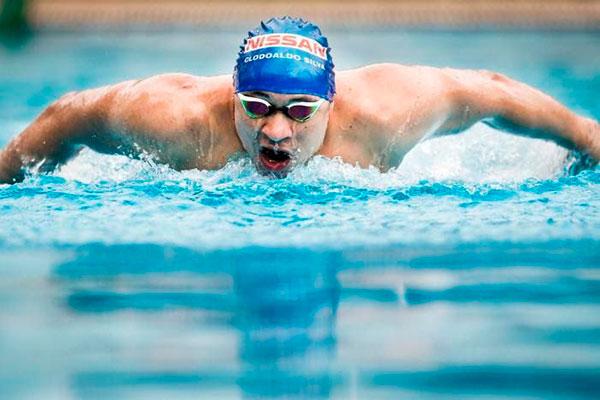 Fãs do nadador Clodoaldo Silva podem ver parte de sua carreira no site