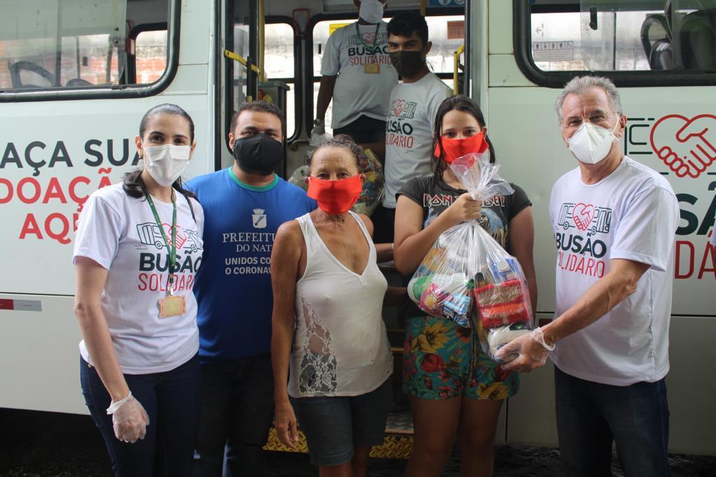 18/05/2020: Igreja Evangélica Unidos por Cristo (Felipe Camarão) – 100 cestas básicas/kits de higiene e de limpeza