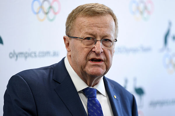 Segundo John Coates, a imensa quantidade de pessoas numa Olimpíada é um grande problema