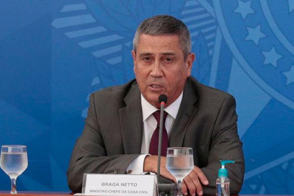 Ministro Braga Netto afirma que vem negociando com BNDES