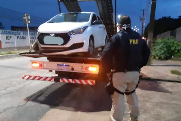 Veículo foi recuperado em São Gonçalo do Amarante