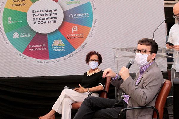 Marise Reis e Igor Thiago Queiroz fazem parte do comitê científico montado da Sesap para a Covid-19