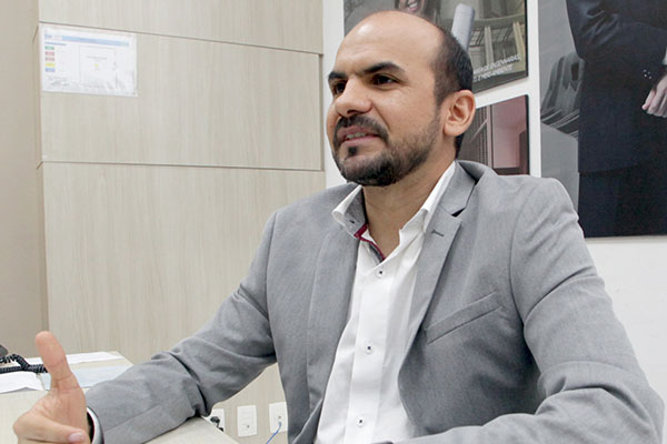 Hedson Costa, especialista em Desenvolvimento e Gestão; Mestre e Professor da Universidade Potiguar (UnP)