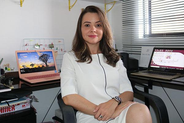 Ananery Alessandra Silva, Mestre em Administração e Professora da Faculdade Estácio de Natal