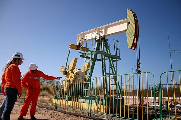Ainda não há previsão para que os campos terrestres de produção de petróleo começam a operar
