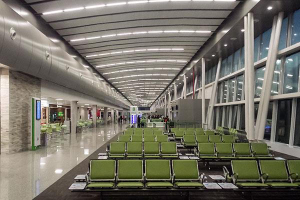 A realidade, nos aeroportos brasileiros, tem sido de baixa e a demora no retorno já preocupa