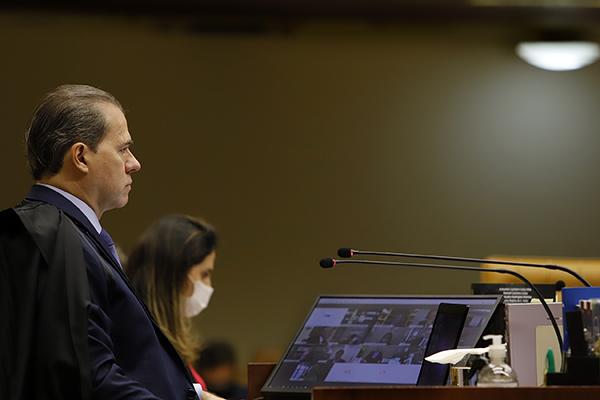 Segundo Toffoli, STF fez um mapeamento interno das demandas das diversas áreas