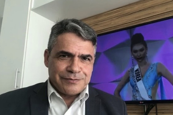 O jornalista Roberto Macedo vai comandar o concurso no Brasil